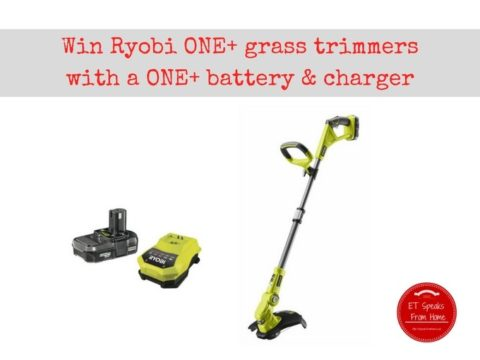 Blogger @etspeaksfrom Europe Giveaway: Ryobi ONE+ Grass Trimmer bundle worth over £150 – Closes 10/15/2017