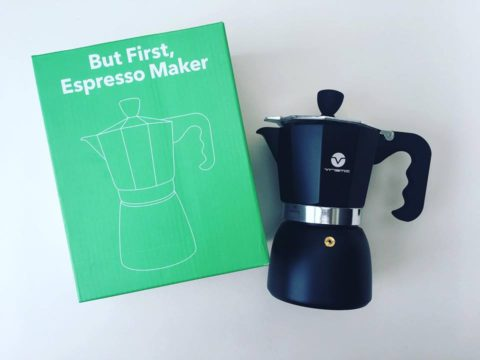 Blogger @MayflowerBlogs UK Giveaway: Win the Vremi Espresso Maker and Wine Preserver – Closes 11/13/2017