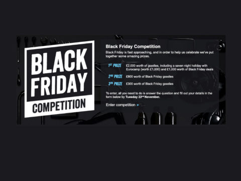 Blogging assignment: Post about our Black Friday competition (UK bloggers) Closes 11/22/2017