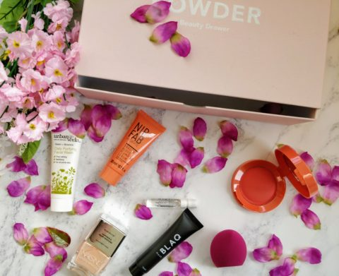 Blogger @boxesnswatches UK Giveaway: October 2017 Powder Beauty Drawer – Closes 10/31/2017