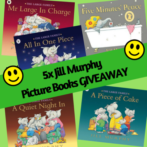Blogger @suziewauthor UK Giveaway: Win 5x Jill Murphy Picture Books – Closes 10/31/2017