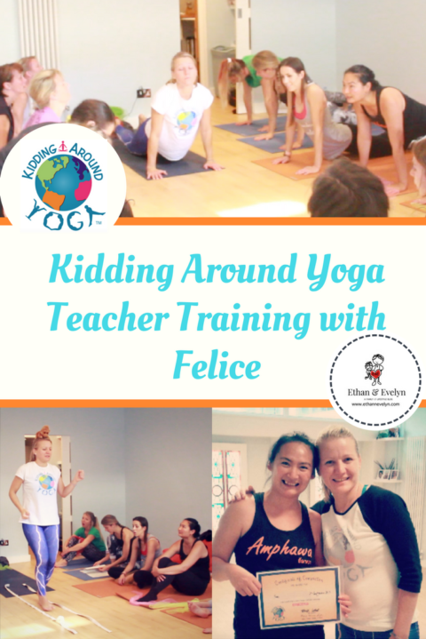 Giveaway: Kidding Around Yoga Teacher Training with Felice | £180 GIVEAWAY!! – Closes 11/16/2017