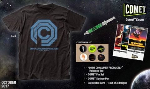 Blogger @mikethefanboy US Giveaway: Win A Comet TV Robocop October Prize Pack – Closes 11/03/2017