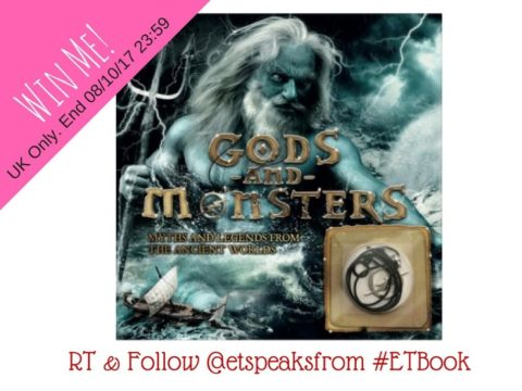 Blogger @etspeaksfrom UK Giveaway: Gods and Monster book worth £8.99 – Closes 10/08/2017