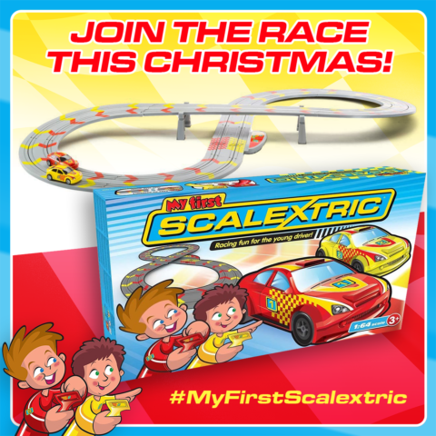Blogger @MelanieMse UK Giveaway: Win a My First Scalextric – Closes 11/19/2017