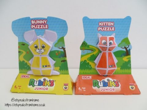 Blogger @etspeaksfrom UK Giveaway: two Rubik's Junior Puzzles – Closes 11/06/2017