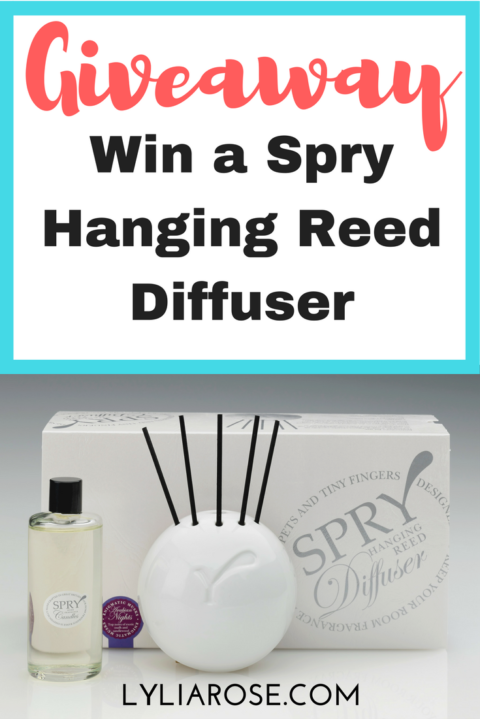 Blogger @lyliarose UK Giveaway: Win a @sprycandles SPRY Wall Hanging Diffuser in scent of your choice! – Closes 12/13/2017