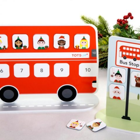 Blogger @lyliarose UK Giveaway: Win a TOTSUP Festive Red Bus Reward Chart! – Closes 6th Dec 2017