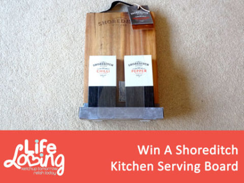 Blogger @lifelovingblog UK Giveaway: Win a Shoreditch Kitchen Serving Board – Closes 12/31/2017
