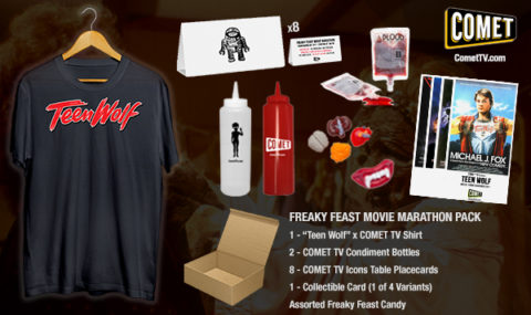 Blogger @mikethefanboy USA Giveaway: Win A Comet TV Prize Pack with Teen Wolf Shirt – Closes 1st Dec 2017