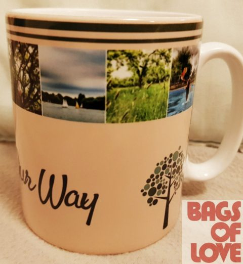 Blogger @followourpath UK Giveaway: Win a personalised photo mug from Bags of Love – Closes 12/01/2017