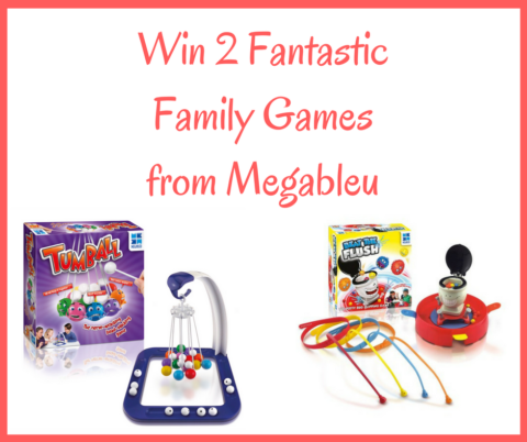 Blogger @redrosemummy UK Giveaway: Win Two Fun Family Games from Megableu – Closes 7th Dec 2017