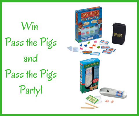 Blogger @RedRoseMummy UK Giveaway: Win Two Pass the Pigs Games – Closes 7th Dec 2017