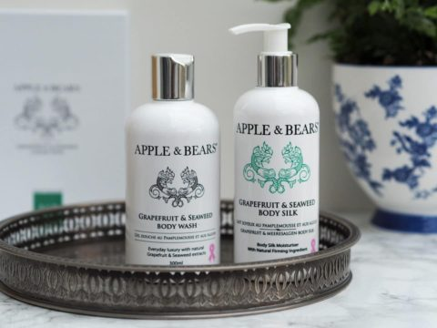Blogger @mappedoutblog UK Giveaway: Win an @ApplesAndBears Grapefruit and Seaweed Luxury Gift Set worth £34.95 – Closes 12/15/2017