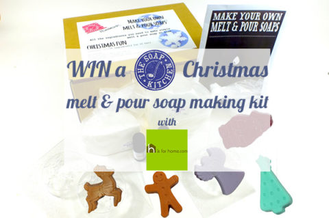 Blogger @hisforhome UK Giveaway: WIN a melt & pour soap-making kit – Closes 11/30/2017