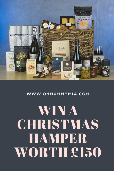 Blogger @ohmummymia UK Giveaway: Win A Christmas Hamper worth £150 – Closes 7th Dec 2017