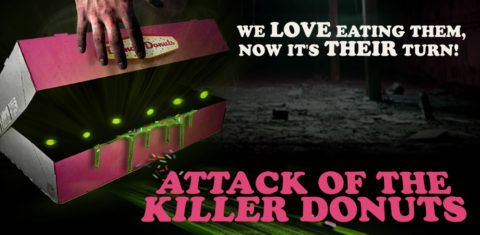 Blogger @mikethefanboy US Giveaway: Win Attack of the Killer Donuts on Digital HD or Hard Copy – Closes 12/22/2017