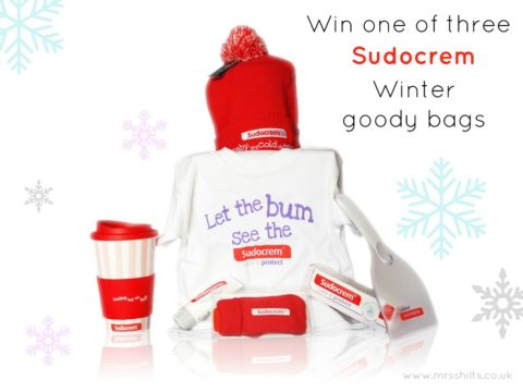 Blogger @mrsshilts UK Giveaway: Win one of three @sudocrem Winter goody bags – Closes 12/31/2017