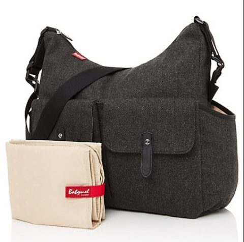 UK Giveaway: Win A BabyMel Frankie Tweed Changing Bag with Sudocrem – Closes 01/31/2018