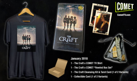 Blogger @mikethefanboy USA Giveaway: Win A @WatchComet TV January The Craft Swag Pack! Shirt! Tarot Cards! And More! – Closes 02/02/2018