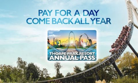 Blogger @etspeaksfrom UK Giveaway: Win a Family Thorpe Park Resort Annual Passes – Closes 5th Feb 2018