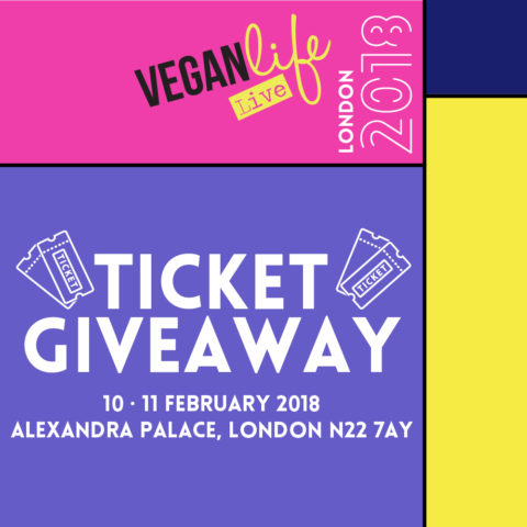Blogger @lojovstheworld UK Giveaway: Win a pair of weekend passes for @veganlifelive – Closes 01/31/2018