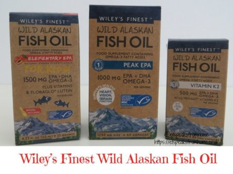 Blogger @etspeaksfrom UK Giveaway: Family Bundle of Wiley's Finest Wild Alaskan Fish Oils – Closes 25th Feb 2018