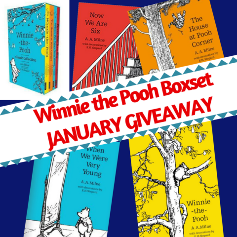 Blogger @suziewauthor UK Giveaway: Winnie the Pooh 4x classic books boxset – Closes 01/31/2018