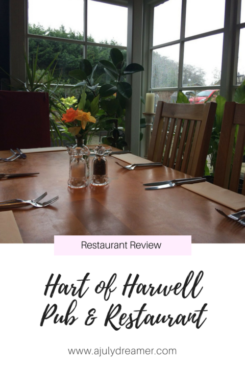 Lunch at Hart of Harwell