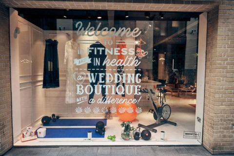 Blogging assignment: In Fitness & In Health. Pop-up in Covent Garden, London, 10th Feb.