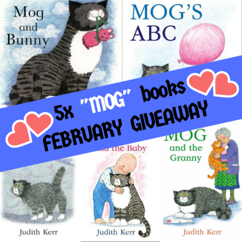 Blogger @suziewauthor Worldwide Giveaway: Judith Kerr 5x Mog picture books Giveaway – Closes 02/28/2018
