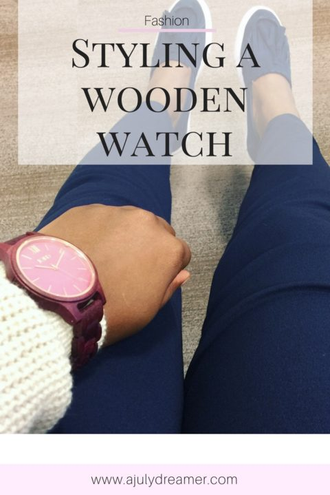 {Fashion Monday} How-to Style a Wooden Watch