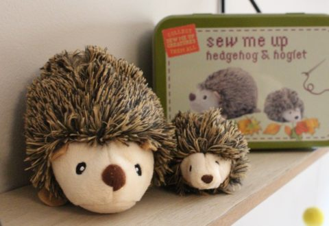 Blogger @andrubymakes4 UK Giveaway: Win a 'Sew Me Up' Hedgehog and Hoglet kit – Closes 15 May 2018