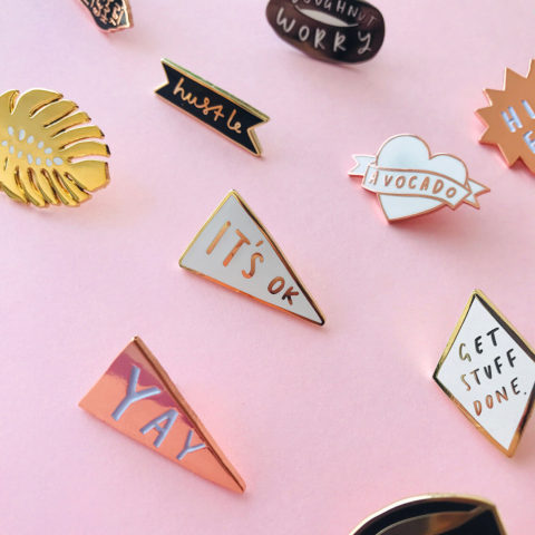 Blogging assignment: UK & Worldwide bloggers wanted to promote our new Enamel Pin range. Closes 18th May 2018