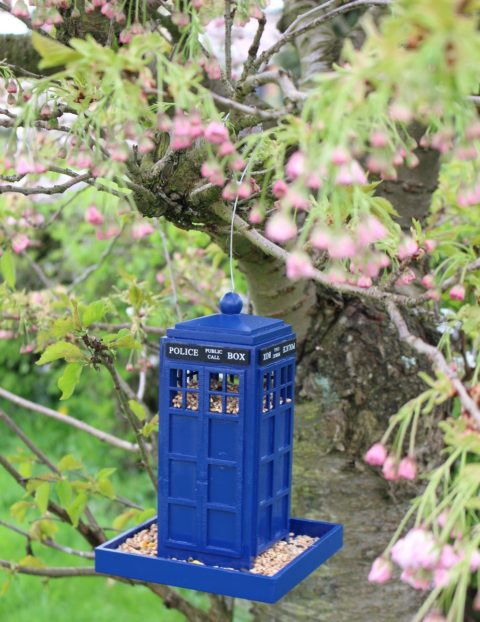 Blogger @life_breakdown UK Giveaway: Police Box Bird Feeder – Closes 23rd May 2018