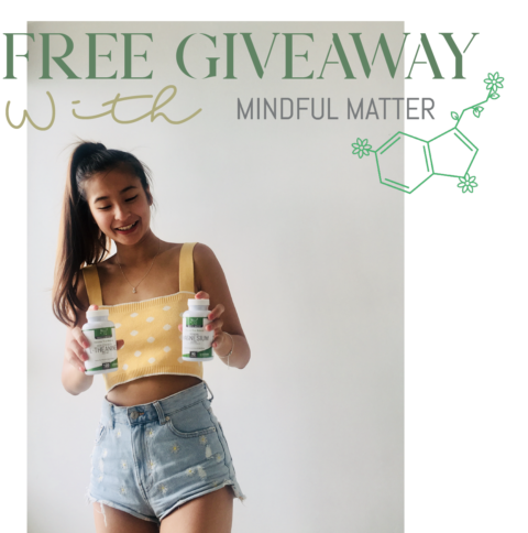 Blogger @karennga1 Worldwide Giveaway: Mindful Matter Supplements for Mental Health – Closes 26th Sept 2018