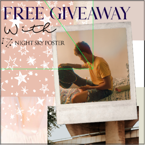 Blogger @karennga1 *UK GIVEAWAY* Celebrate A Special Day With a Night Sky Poster (worth £50) – Closes 12th Sept 2018