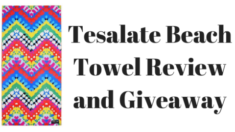 Blogger @stressedmum01 UK Giveaway: Win a @tesalate Beach Towel – Closes 19th Oct 2018