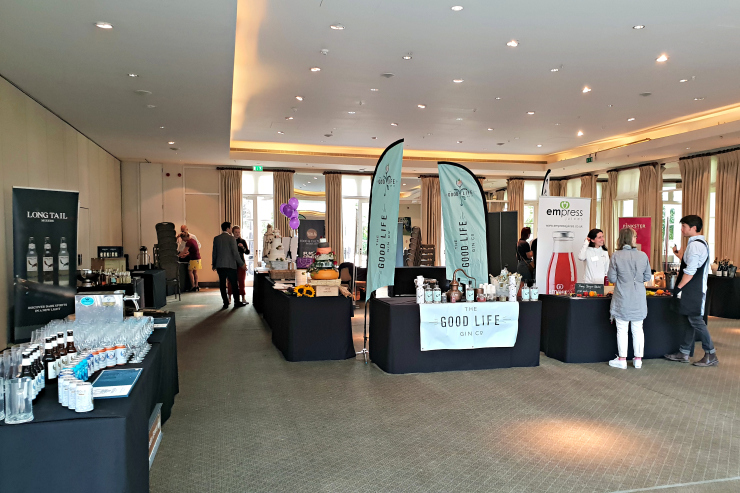 Time & Leisure Food and Culture Awards tasting stations