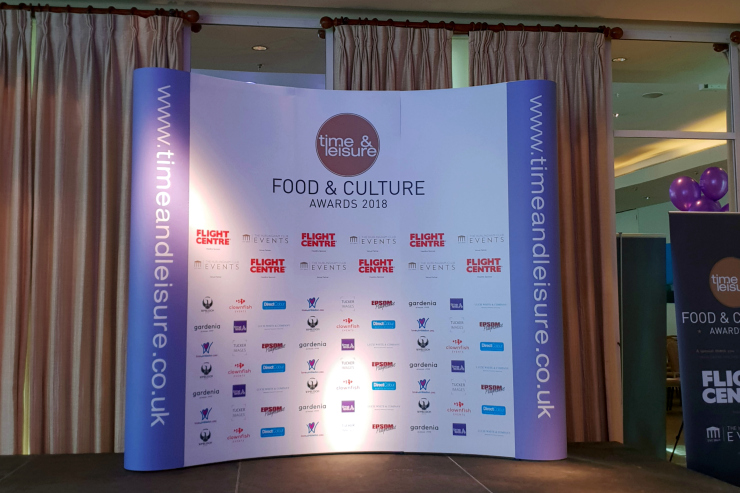 Time & Leisure Food and Culture Awards - Awards Stage