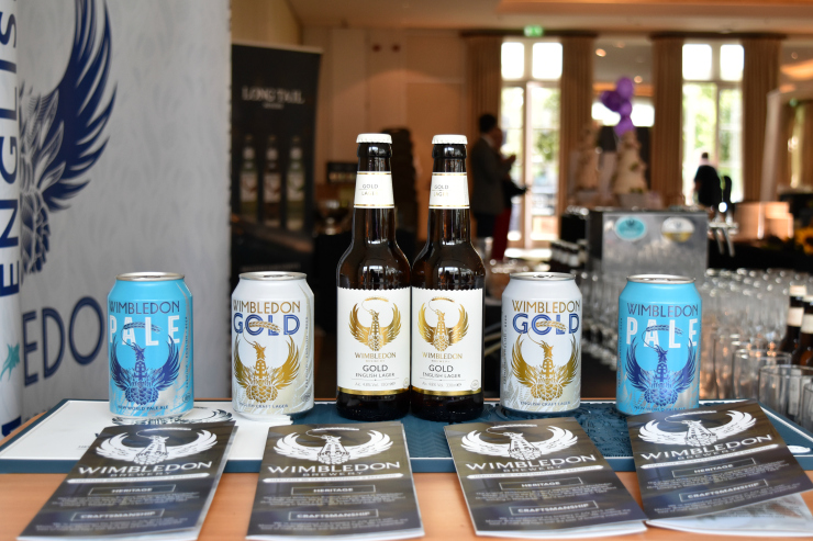 Time & Leisure Food and Culture Awards - Wimbledon Brewery beers