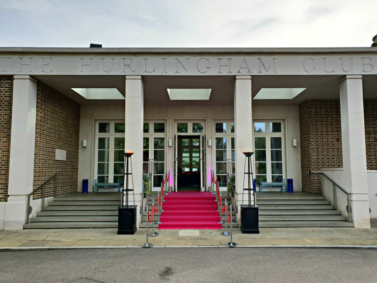 Exterior of The Hurlingham Club for the Time & Leisure Food and Culture Awards