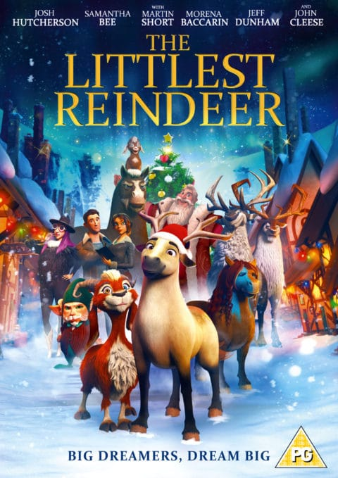 Blogger @bizzimummyuk UK Giveaway: Littlest reindeer DVD – Closes 30th Nov 2018