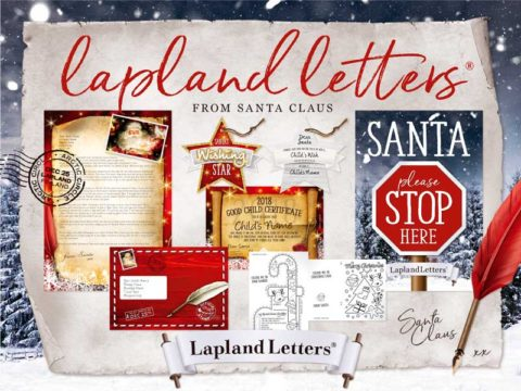UK blogging assignment: Fantastical Lapland Letter from Santa for FREE! Closes 25th Nov 2018