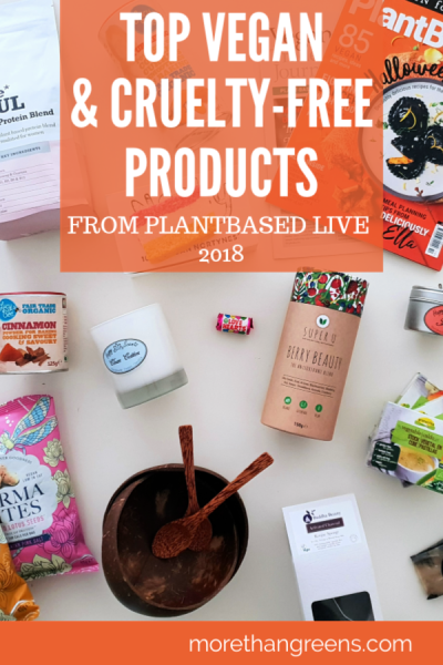 Top vegan and cruelty-free products from PlantBased Live 2018