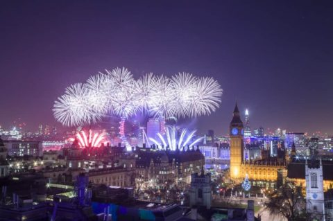NYE In London – The Best Place To See Fireworks In London On New Year's Eve
