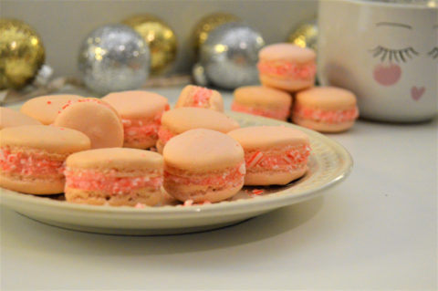 Pretty Peppermint Macaron Recipe
