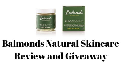 Blogger @stressedmum01 UK Giveaway: @balmonds_uk Natural Skincare Giveaway – Closes 14th May 2019