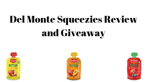 Blogger @stressedmum01 UK Giveaway: Win a box of each flavour Del Monte Squeezie and Del Monte Goodies – Closes 10th June 2019
