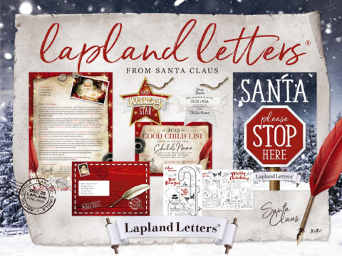 Blogging assignment: UK bloggers wanted for Personalised Fantastical Santa Letters this Christmas. Closes 1st Dec 2019
